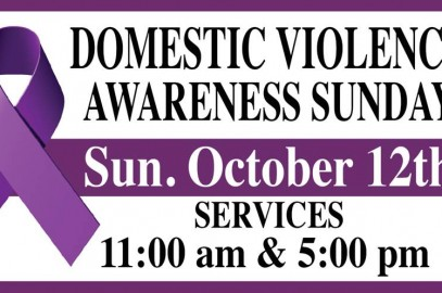 Domestic Violence Awareness Sunday