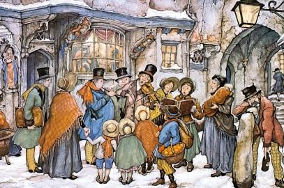 Christmas Caroling – Wed, Dec. 17th, 4-6pm