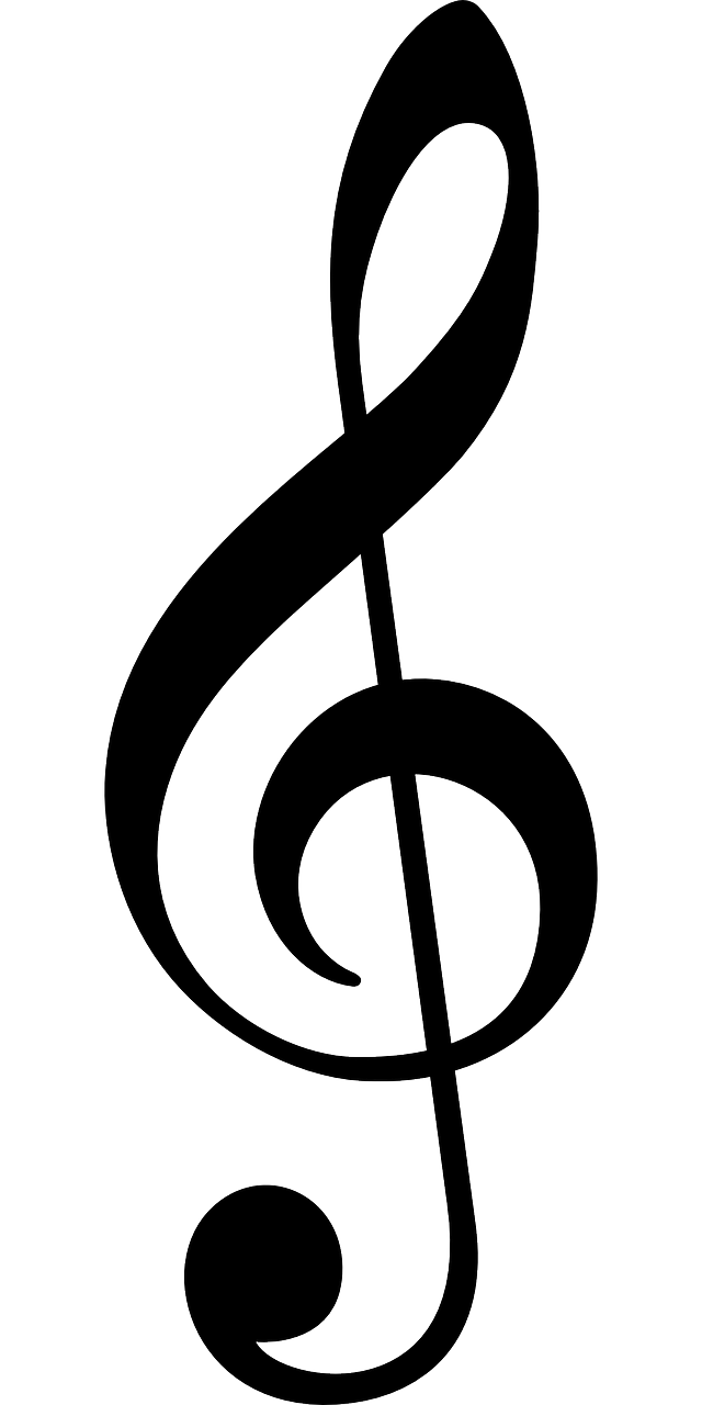 Image of a treble clef