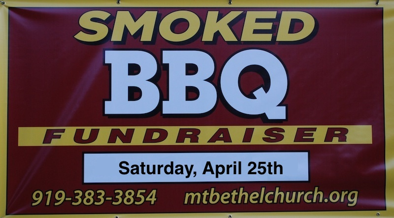 BBQ Fund-raiser, April 25th