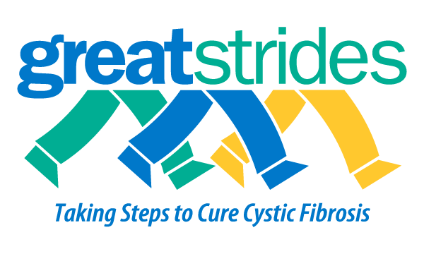 Cystic Fibrosis Great Strides Walk logo